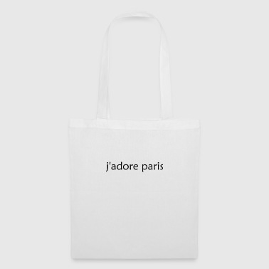 'I Love Paris' French - Tas van stof