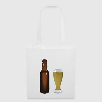 Beer glass bottle - Tote Bag