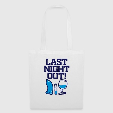 Last night in the neighborhood - Tote Bag