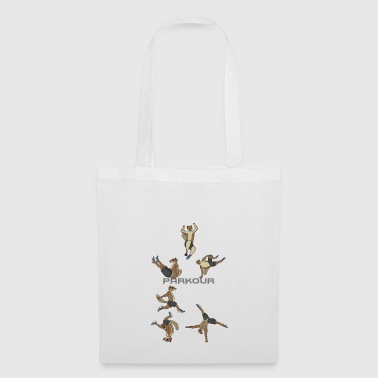 Atlas Squirrel Freerunning Jumping Pacour - Tote Bag