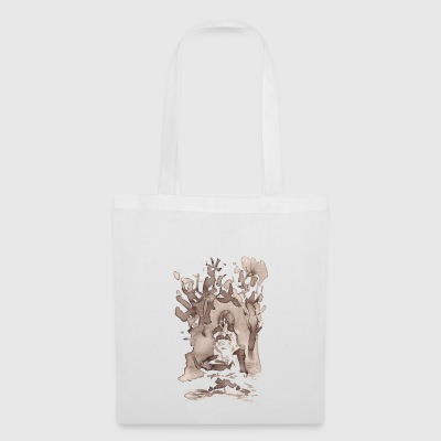 forest woman - Tote Bag