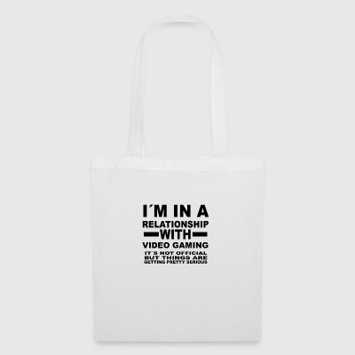 Relationship with VIDEO GAMING - Tote Bag