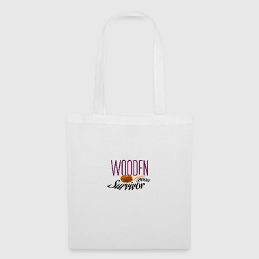 Wooden spoon survivor - Tote Bag