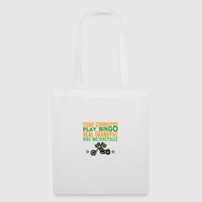 Gift for opas with motorcycles - Tote Bag