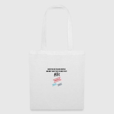 Feeling sensitive - Tote Bag