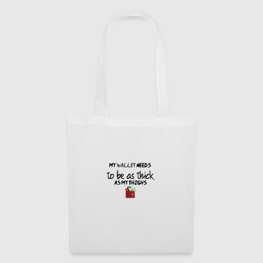 A thick wallet - Tote Bag