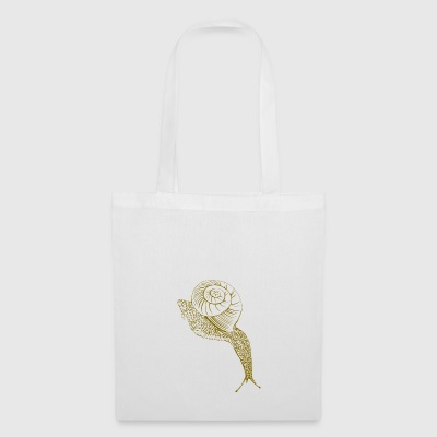 Brown snail - Tote Bag
