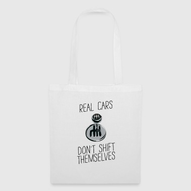 A real car - acceleration - funny spell - Tote Bag