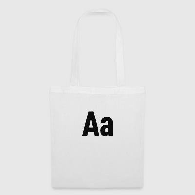 Letters Aa letter alphabet - Tote Bag