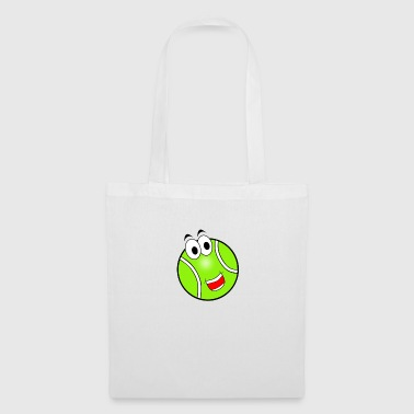 Happy Tennis Ball - Tote Bag