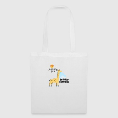 How is weather up here - Tote Bag