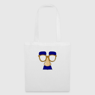Glasses with mustache - Tote Bag