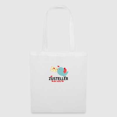 Deliverer with heart - Tote Bag