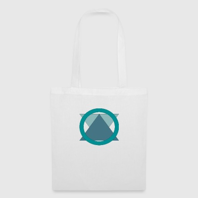 Triangle_in_Circle - Bolsa de tela