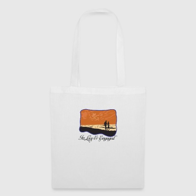 Engaged In Love - Tote Bag