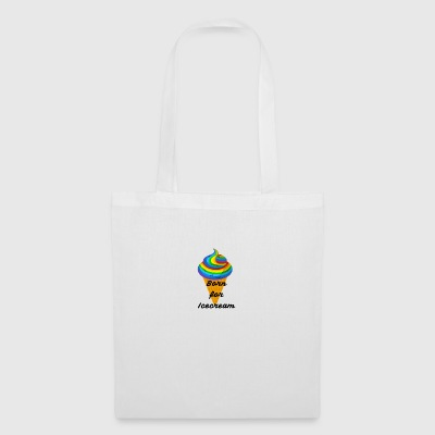 Né pour Icecream - Tote Bag