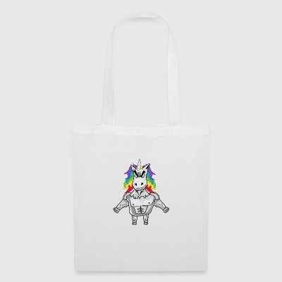 Unicorn with muscles - Tote Bag