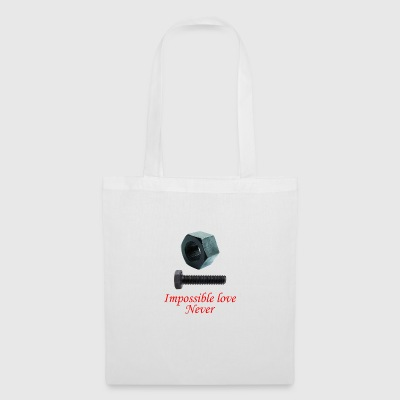 2 Impossible Love never - Tote Bag