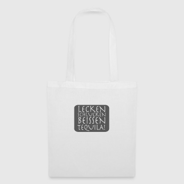 LICK SIPS BITE TEQUILA - Tote Bag