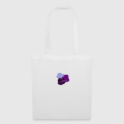 Cloudy but happy - Tote Bag