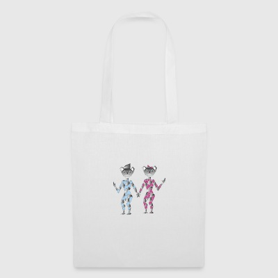 robot de couple - Tote Bag