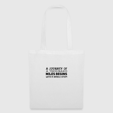 A journey begins - Tote Bag