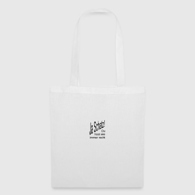 Yes sweetheart - Tote Bag