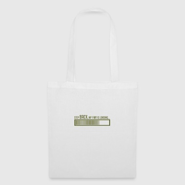 STEP BACK, MY FART IS LOADING - Tote Bag