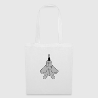 fighter aircraft - Tote Bag