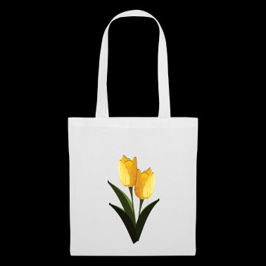 Yellow tulips - Tote Bag