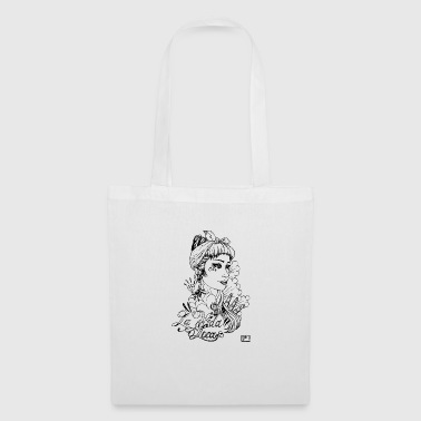 fille tatouée - Tote Bag
