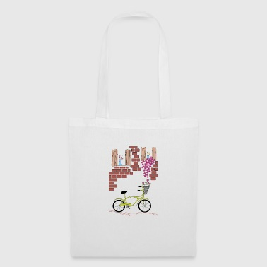 village à vélo - Tote Bag