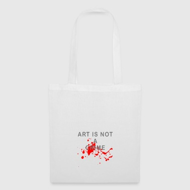 Art is not a crime (blood) - Tote Bag