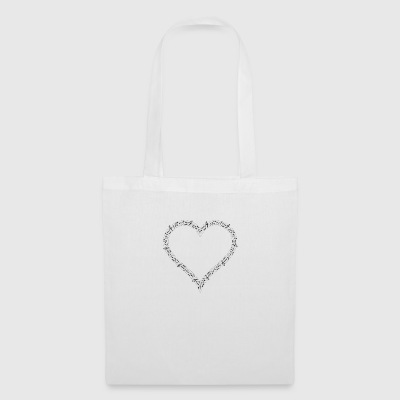 coeur musical - Tote Bag