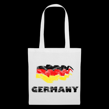 Soccer Flag Fan Shirt Germany - Tote Bag