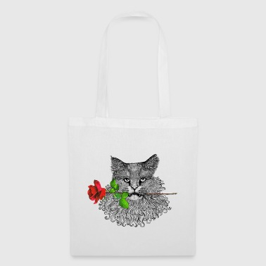 Romantic Cat - Tote Bag