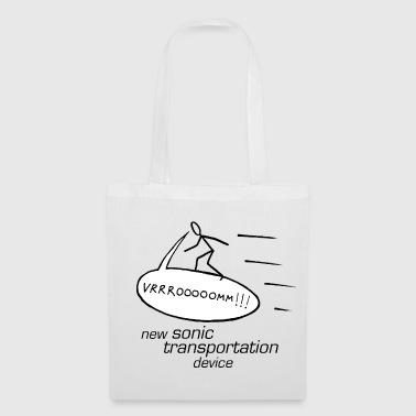 new sonic transportation device - Tote Bag