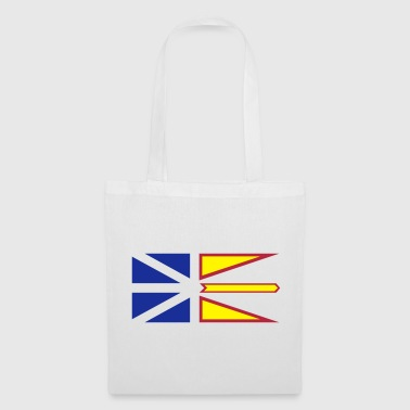 Flag of Newfoundland and Labrador, Canada. - Tote Bag