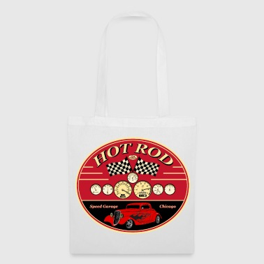 Hot Rod racing parts - Tote Bag