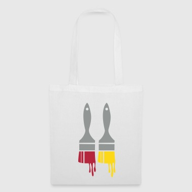 two paint brushes - Tote Bag