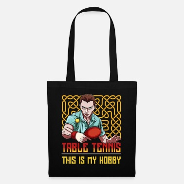 Tennis Table tennis players - Tote Bag