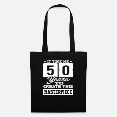 Round Birthday 50th Birthday Gift Round Birthday - Tote Bag