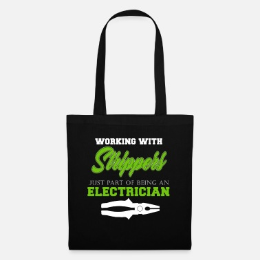 Electricity Electrician Electricity Electricity Electricity Gift - Tote Bag