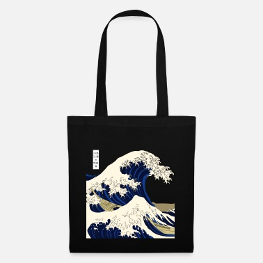 Japanimation Wave Japan Kanagawa - Borsa di stoffa