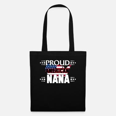 American Eagle Orgogliosa americana Nana American Flag Nonna - Borsa di  stoffa 620444b2b007