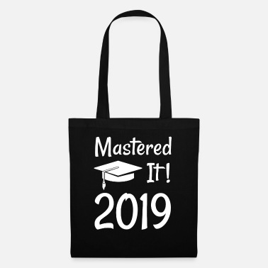 Degree Master's Degree Graduation Gift graphic - Tote Bag