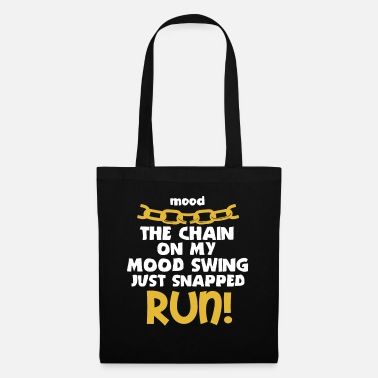 Chain Funny Mood Swing T Shirt Design MOOD SWING CHAIN - Tote Bag