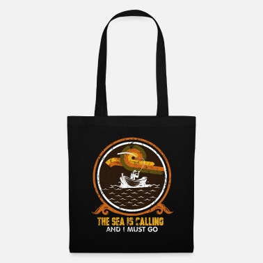 Sea Fishing lake - Tote Bag