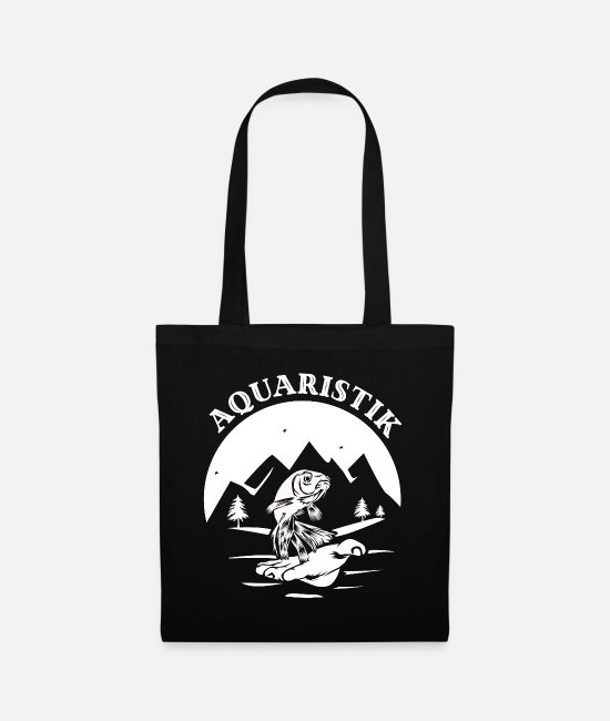 Clean Bags & Backpacks - Aquaristik Geschenk - Tote Bag black