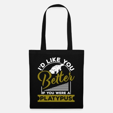 Travel Bug platypus - Tote Bag